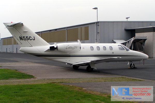 21.06-2006 N55CJ CESSNA CIT525 CJ