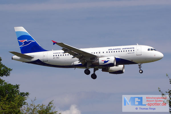 22.06.2014 OY-RCI Atlantic Airways A319-112