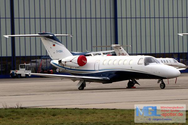 18.01.2021 D-ICBA ProAir Aviation Cessna 525A CitationJet CJ2