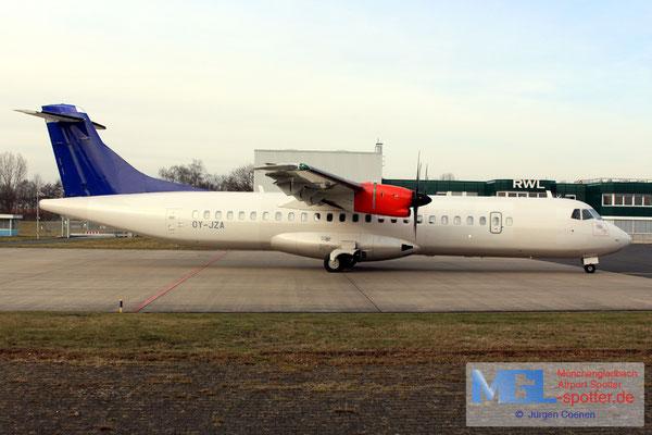 27.01.2017 OY-JZA Jettime / (SAS) ATR 72-600 cn1110