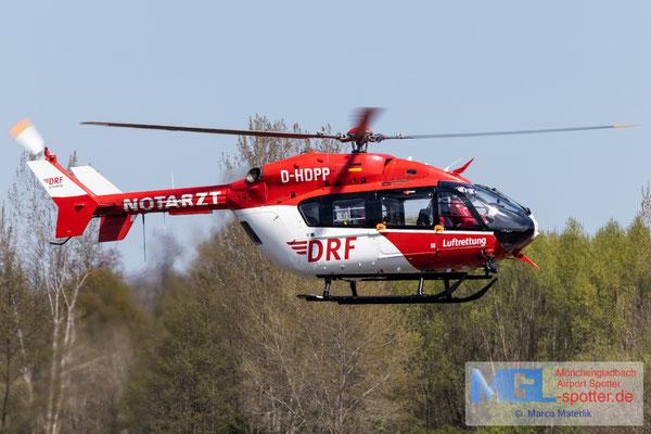 27.04.2021 D-HDPP DRF Luftrettung Eurocopter EC 145