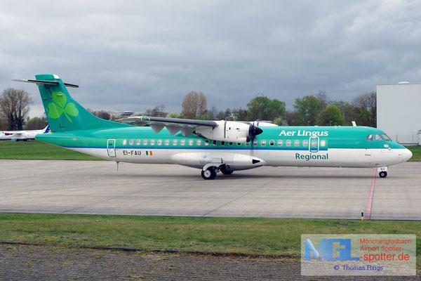 06.04.2017 EI-FAU Stobart Air / Aer Lingus Regional ATR 72-600 cn1098