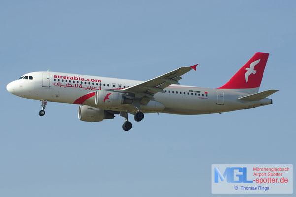 17.02.2013 CN-NMF Air Arabia Maroc A320-214