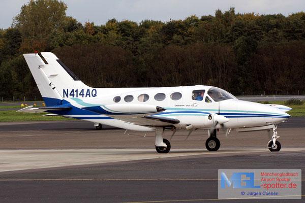 12.10.2017 N414AQ Cessna 414 Chancellor