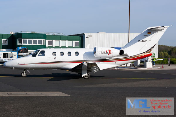 16.04.2020 D-IAWU Sylt Air Cessna 525 CitationJet CJ1