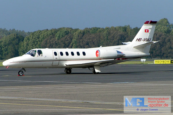 13.10.2004 HB-VMJ Cessna S550 Citation SII