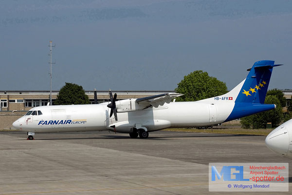 06.05.2007 HB-AFK Farnair Europe ATR 72-202 cn232