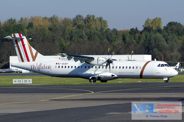 18.10.2017 2-DCBT Elix Aviation Capital / FlyValan ATR 72-500 cn747