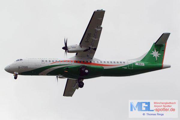 30.03.2015 F-WWEP (B-17015) Uni Air ATR 72-600