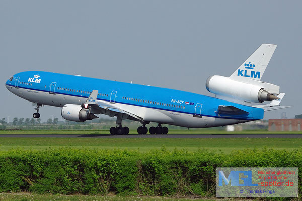 27.04.2011 PH-KCF KLM MD-11