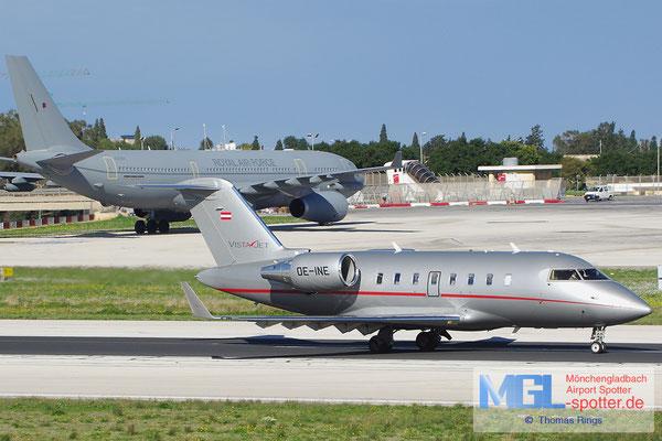 31.12.2013 OE-INE Vista Jet Challenger 605