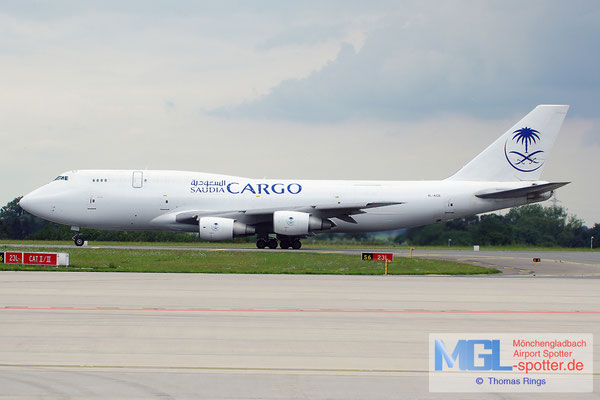 16.08.2014 4L-ACE Aquiline / Saudia Cargo B747-329F