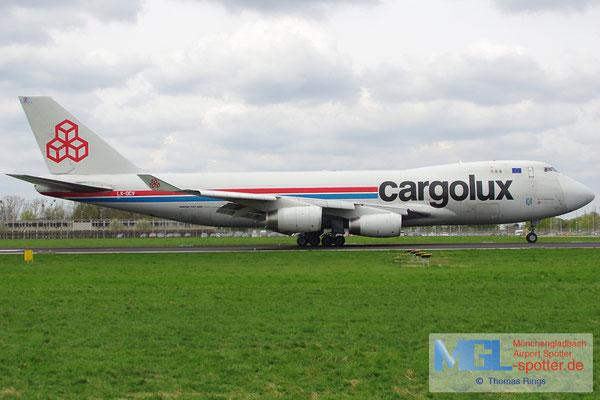 27.04.2013 LX-OCV Cargolux B747-4R7F