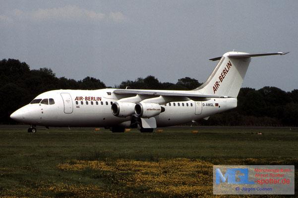 01.05.2003 D-AMGL AIR BERLIN BAE146