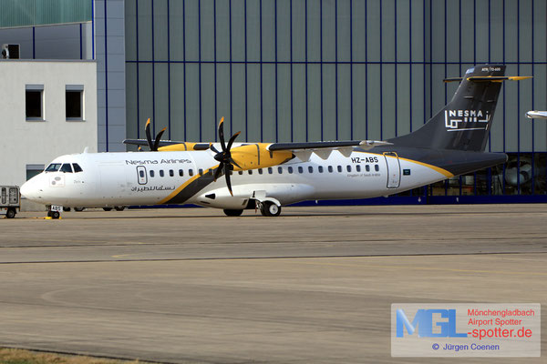 26.09.2018 HZ-ABS Nesma Airlines ATR 72-600 cn1352