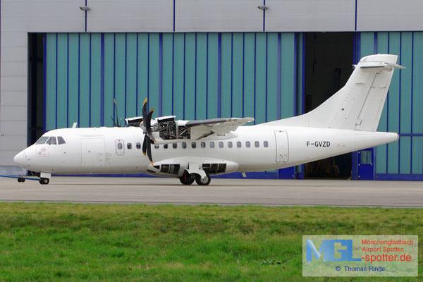 20.10.2012 F-GVZD Airlinair ATR 42-500 cn530