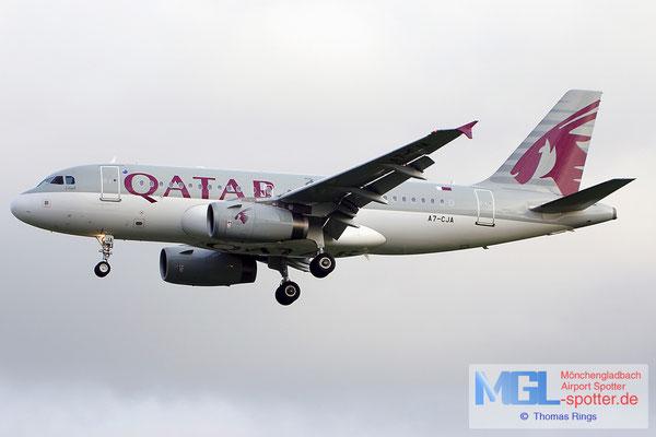 19.06.2014 A7-CJA Qatar Airways A319-133LR