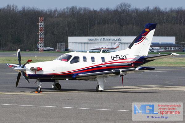 22.03.2017 D-FLUX Socata TBM-700N