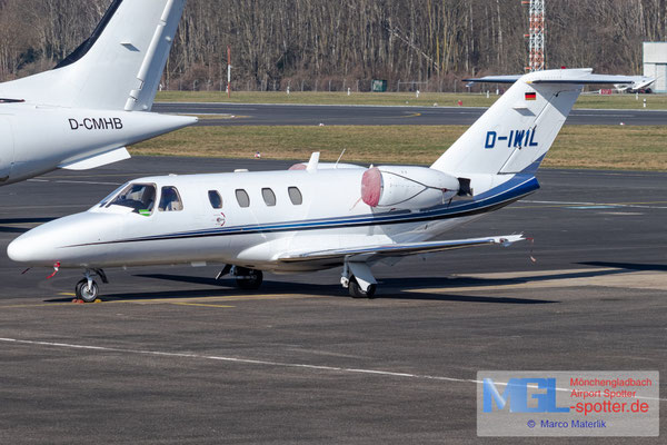 01.03.2021 D-IWIL Cessna 525 CitationJet CJ1