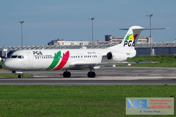 27.10.2013 CS-TPE Portugalia Fokker 100