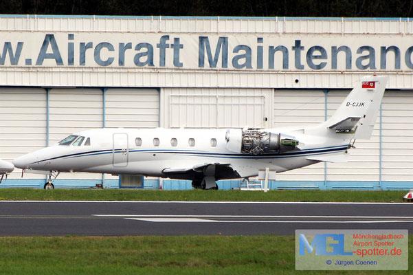 02.10.2020 D-CJJK Cessna 560XLS Citation