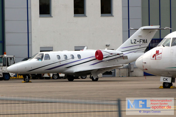 11.11.2019 LZ-FNA Cessna 525 Citation I