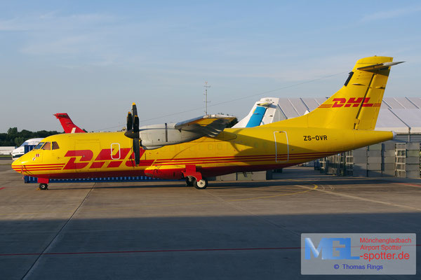 31.07.2015 ZS-OVR Solenta Aviation / DHL ATR 42-300F cn116
