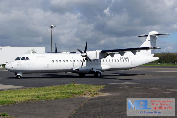 15.04.2014 ZS-XCE Solenta Aviation ATR 72-202F cn396