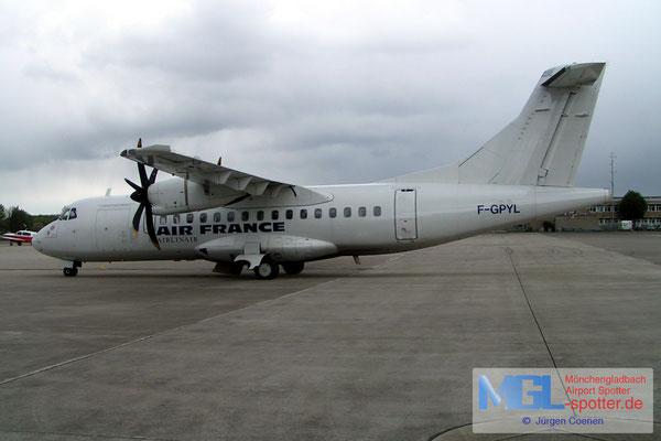 29.04.2006 F-GPYL AIR FRANCE ATR42-500 cn542