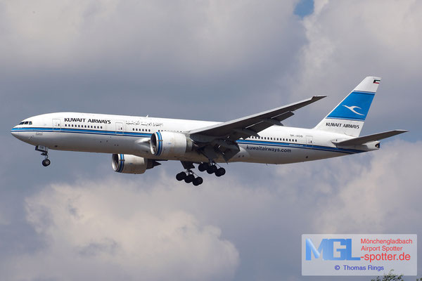 21.06.2014 9K-AOB Kuwait Airways B777-269ER