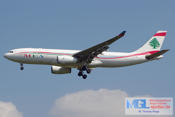 21.06.2014 OD-MEB MEA-Middle East Airlines A330-243