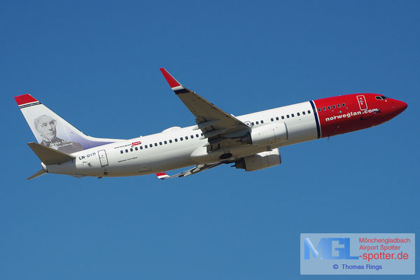 20.04.2013 LN-DYR Norwegian B737-8JP/W