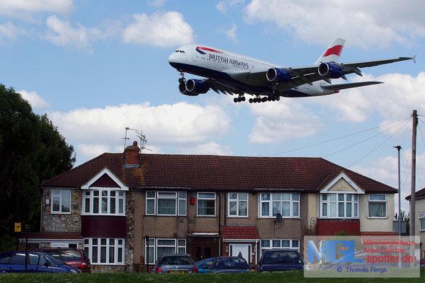 21.06.2014 G-XLEE British Airways A380-841
