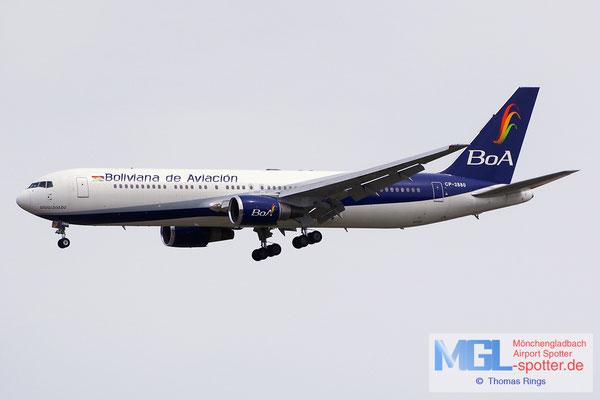 03.04.2015 CP-2880 BoA Boliviana de Aviacion B767-33AER
