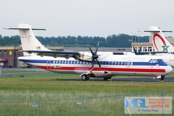 20.08.2013 D-ANAC RAS / (American Eagle) ATR 72-500 cn538