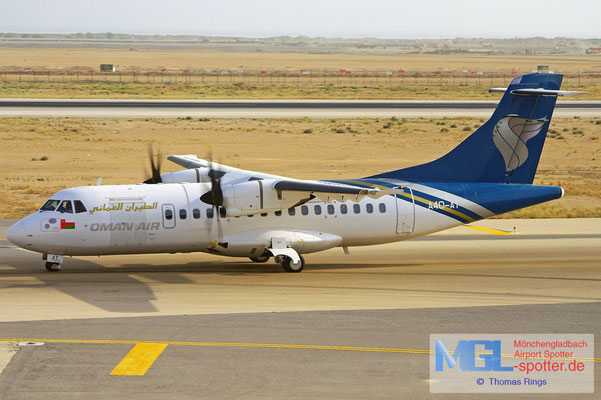 05.08.2010 A4O-AT Oman Air ATR 42-500