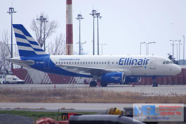 12.02.2017 SX-EMM Ellinair A319-132
