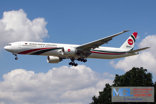 21.06.2014 S2-AHN Biman Bangladesh Airlines B777-3E9ER