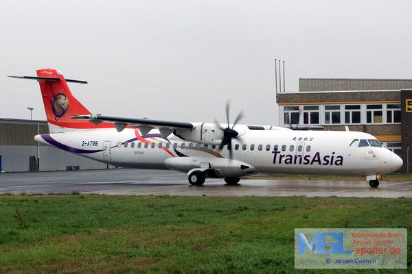 02.10.2018 2-ATRB NAC / TransAsia ATR 72-600 cn1222