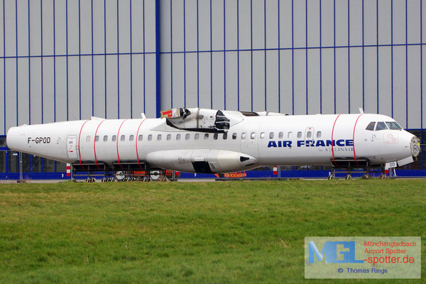 15.03.2014 F-GPOD Airlinair / Air France ATR 72-202QC cn361
