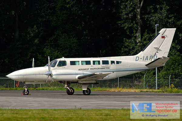 27.07.2007 D-IAPD Aerowest Photogrammetrie Cessna 404