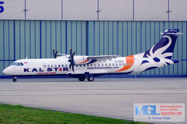 27.10.2014 2-ASIA Kalstar Indonesia / Aircraft Solutions Lux ATR 72-500 cn585