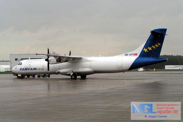 19.08.2006 HB-AFG FARNAIR  ATR72F