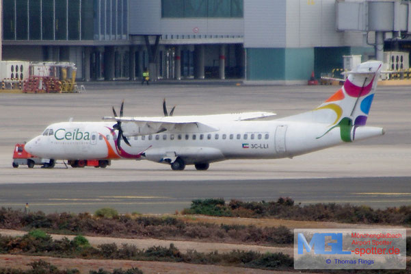 08.07.2014 3C-LLI Ceiba Intercontinental ATR 72-500