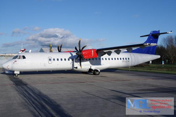 18.11.2016 OY-JZW Jettime / (SAS) ATR 72-500 cn773
