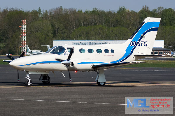 17.04.2020 OO-STG Cessna 421C Golden Eagle