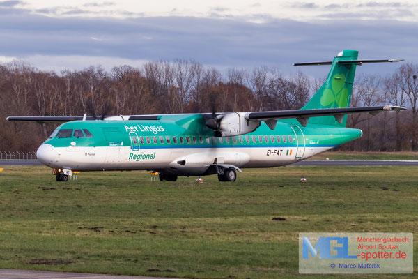 04.12.2020 EI-FAT Stobart Air / Aer Lingus Regional ATR 72-600 cn1097