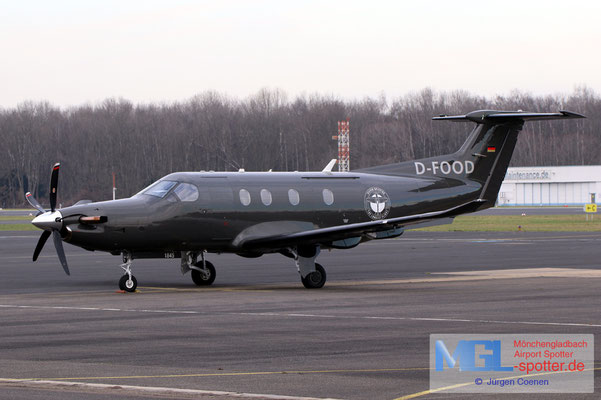 14.01.2021 D-FOOD Pilatus PC-12