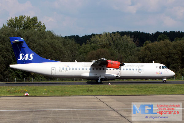 03.09.2017 OY-JZC Jettime / SAS ATR 72-600 cn1120