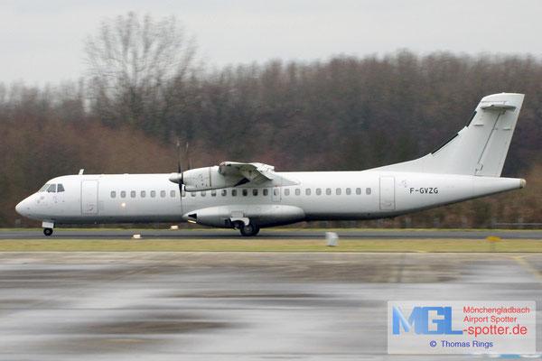 27.12.2011 F-GVZG Airlinair ATR 72-201 cn145